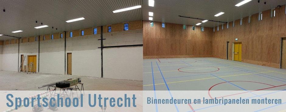 Binnendeuren en lambripanelen monteren Utrecht